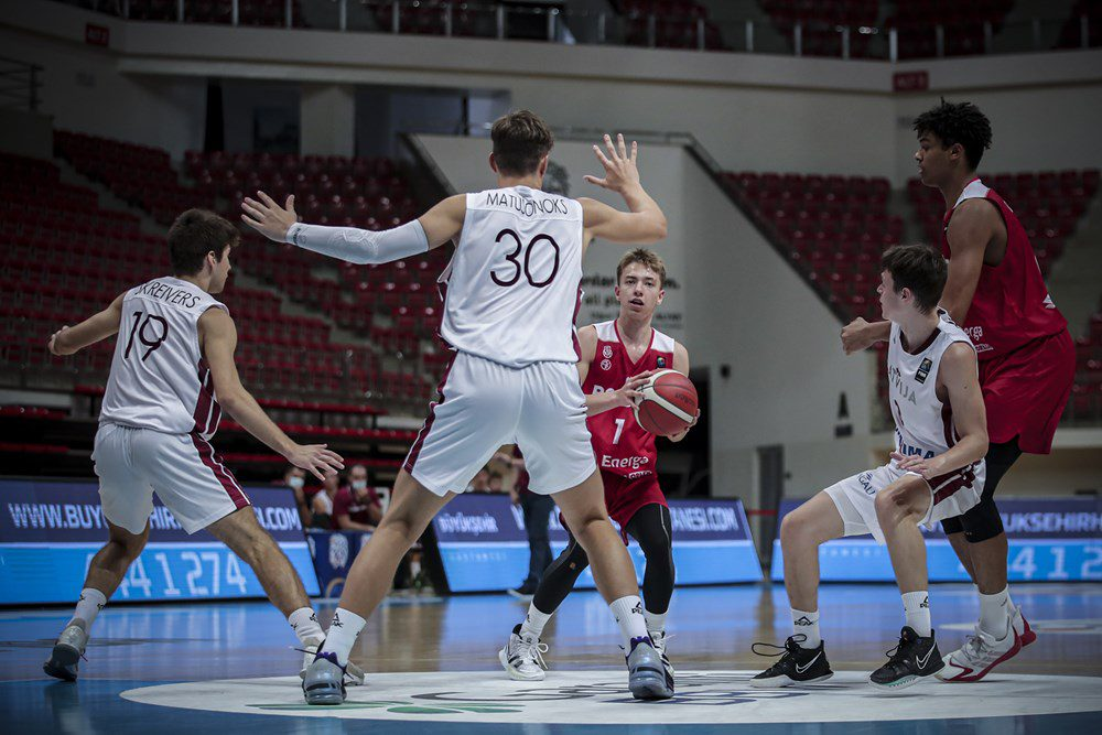 Latvijas U18 basketbola izlase