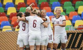 Latvijas sieviešu futbola izlase