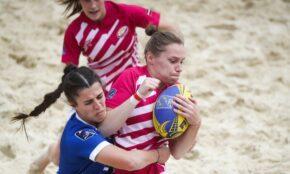 Latvijas sieviešu pludmales regbija izlase