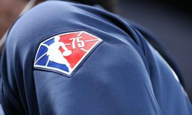 NBA 75. gadadienas logo