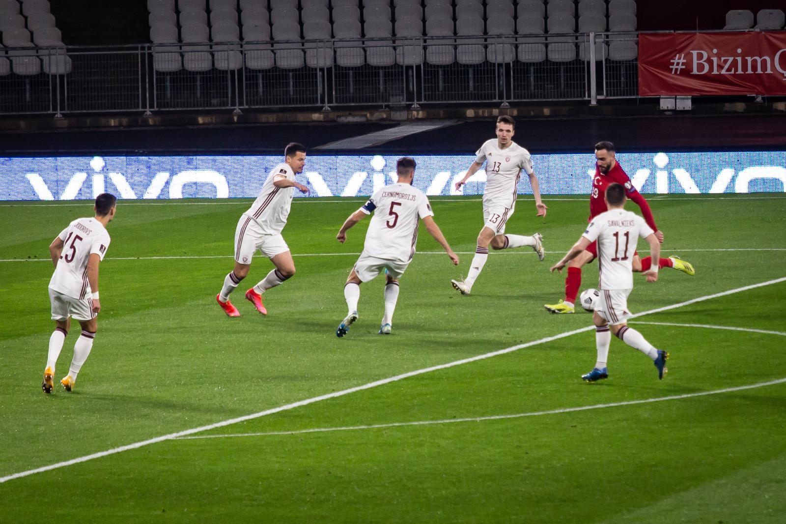 Сборная Латвии по футболу